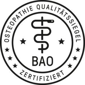 Osteopathie Qualitätssiegel